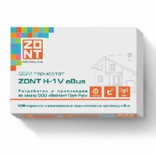 GSM термостат для котлов Vaillant и Protherm ZONT H-1V eBus ML00003306