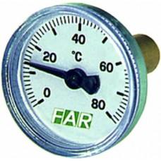 Термометр 0-80?с, зонд 36 мм, o 40 мм, торцевое со..